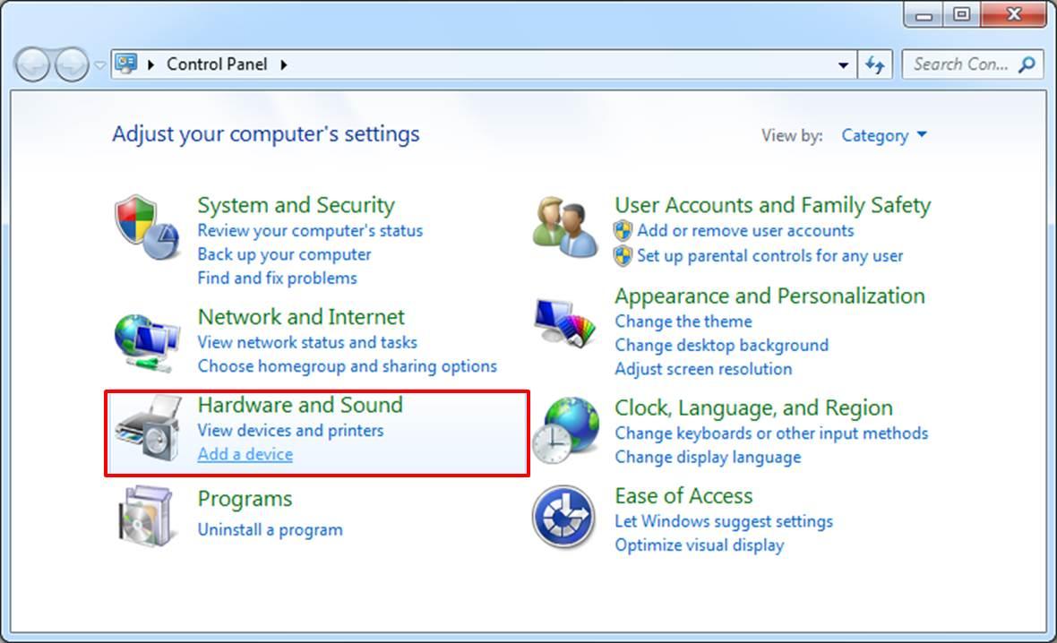 enable bluetooth windows 7 desktop